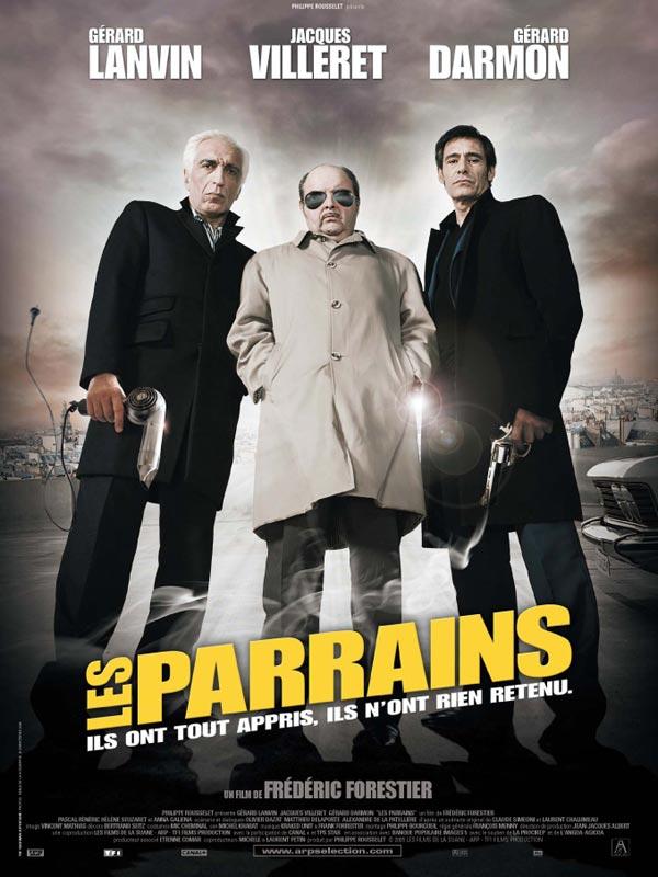 """Affiche du film """"Les parrains"""" de Frédéric Forestier"""