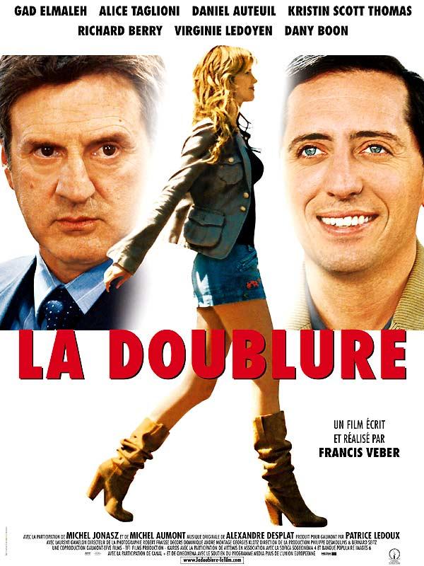 """Affiche du film de Francis Weber """"La doublure"""" - Source : Allo Ciné"""