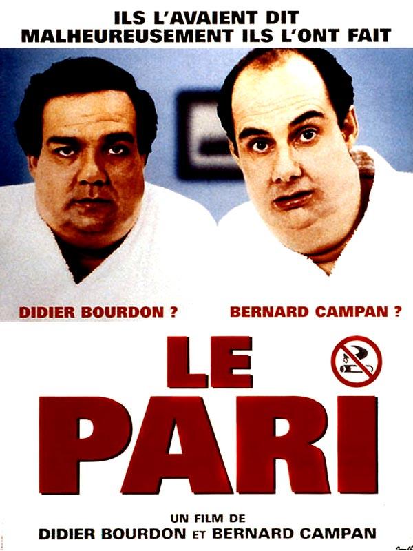"""Affiche du film """"Le pari"""" - source : Allo Ciné"""