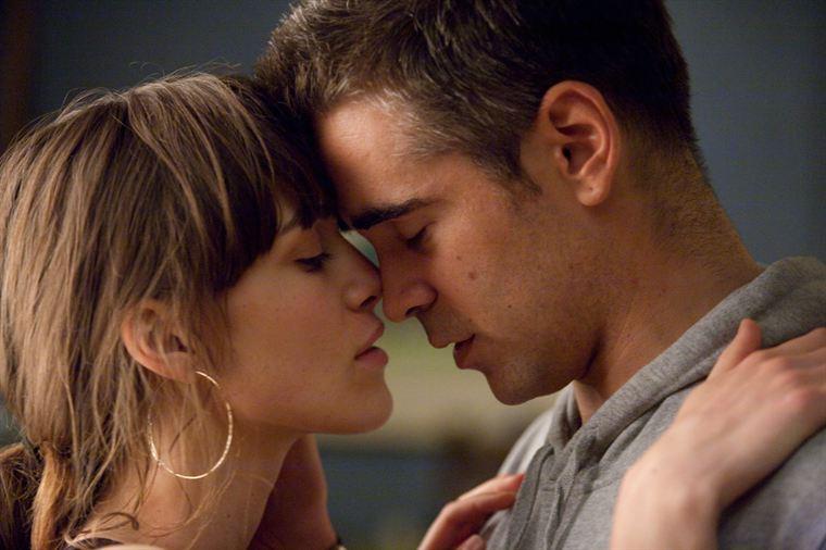 Charlotte (Keira Knightley) et Mitchel (Colin Farrell), un couple au départ improbable
