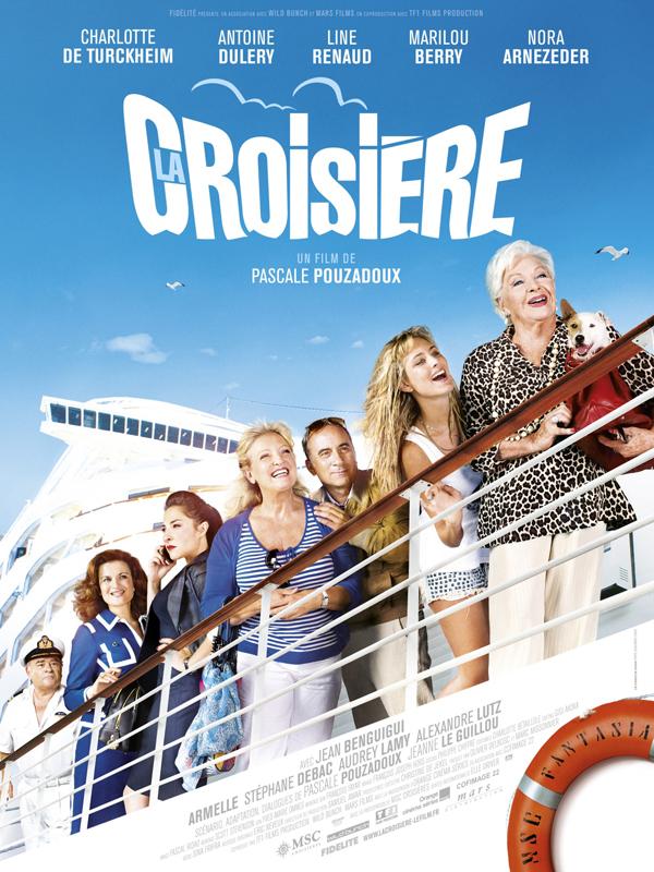 """Affiche du film """"La croisière"""""""
