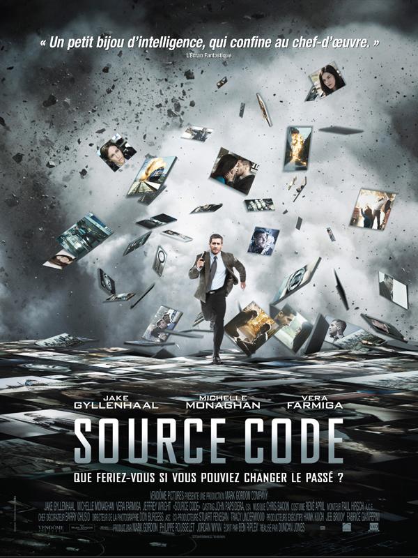 "Affiche du film ""Source code"""