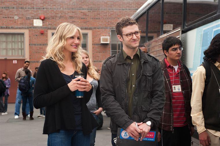 Elizabeth (Cameron Diaz) a flashé sur Scott (Justin Timberlake), le jeune prof remplaçant