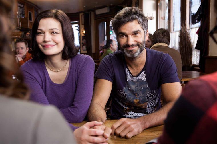 Lili (Marianne Denicourt) et Franck (François Vincentelli), compagnons d'infortune...