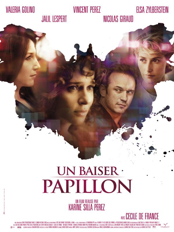 """Affiche du film """"Un baiser papillon"""""""