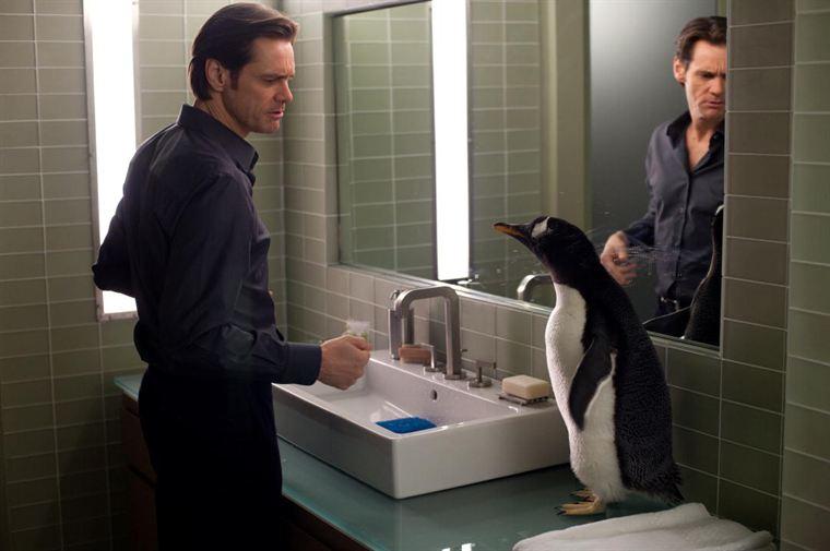 Tommy Popper (Jim Carrey) fait connaissance avec son nouveau colocataire