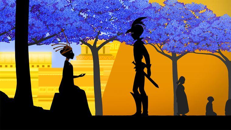 Dans la cité en or, un jeune homme rencontre une jeune fille qui va être sacrifiée car elle est la plus jolie...