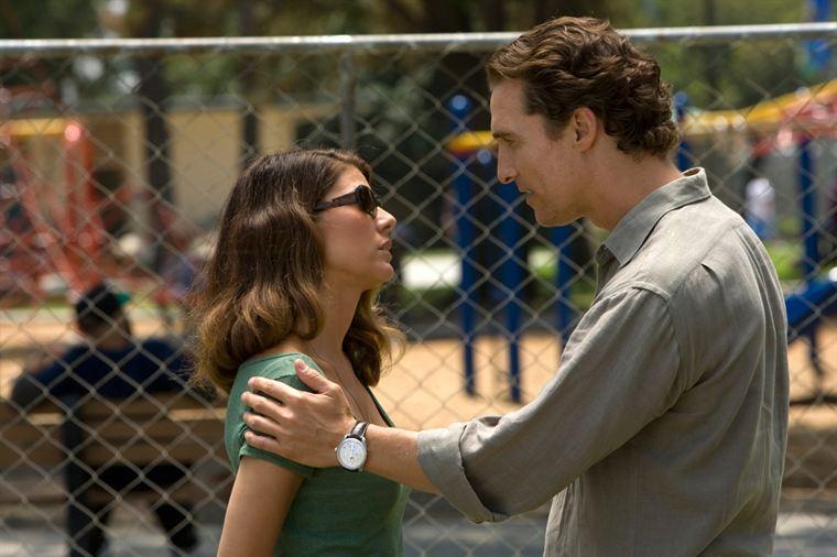 Mickey Haller (Matthew McConaughey) et son ex-femme, Maggie McPherson (Marisa Tomei)