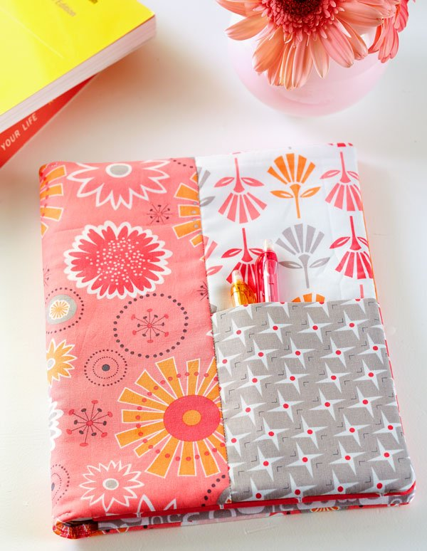 Cute and Colorful Fat Quarter Projects featured by top US sewing blog, Flamingo Toes