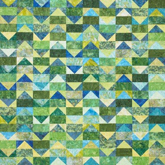 Fabric Batik Hoffman Quilting