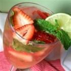 Strawberry-Mint Soda Recipe