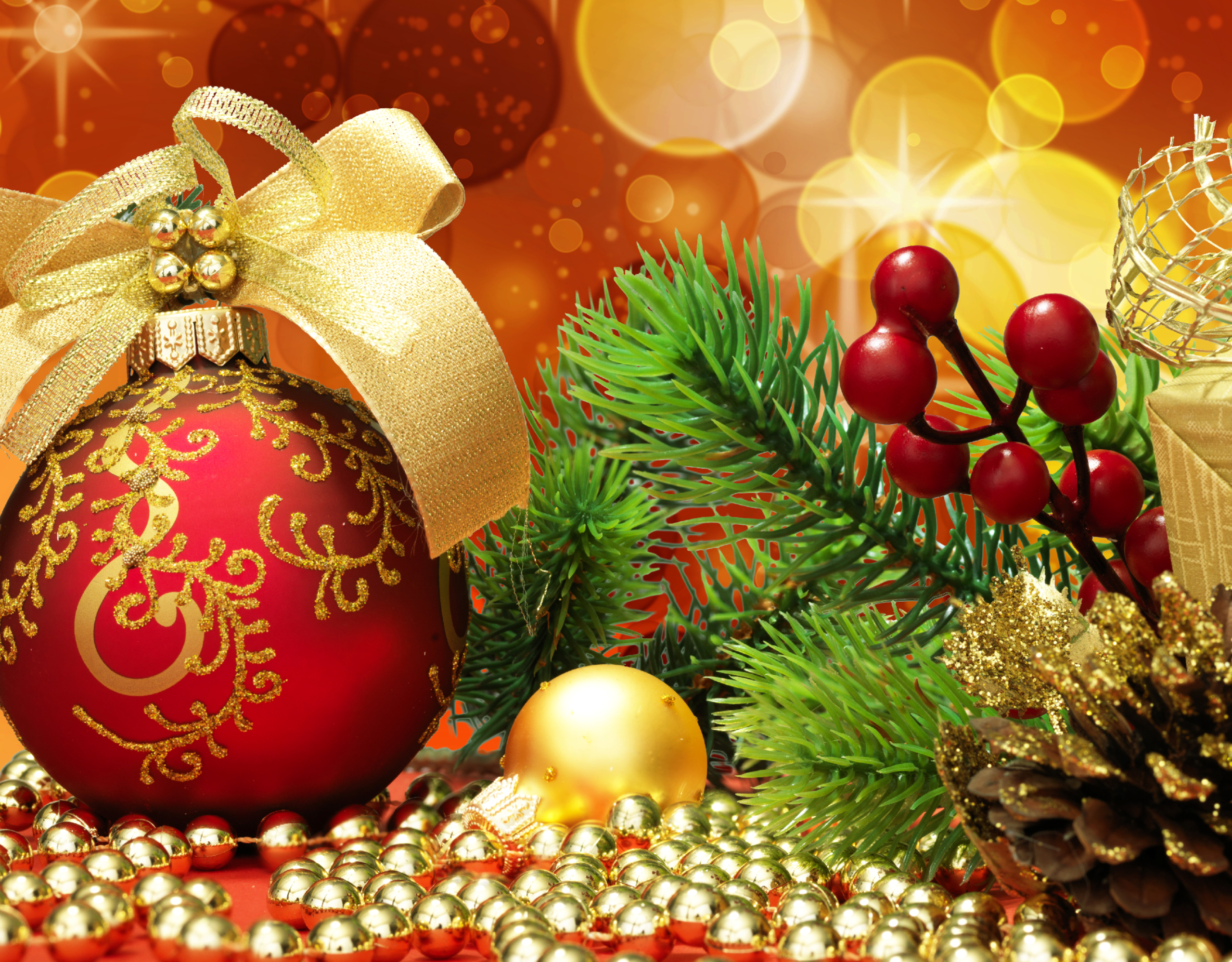 Christmas Full HD Wallpaper And Background 2560x2000