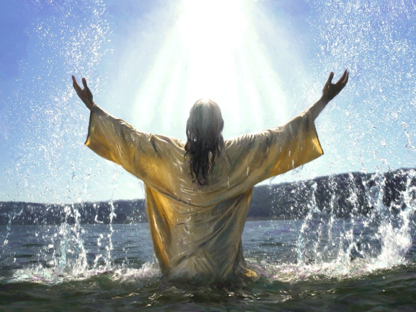 Baptism Of Jesus Wallpaper And Background Image