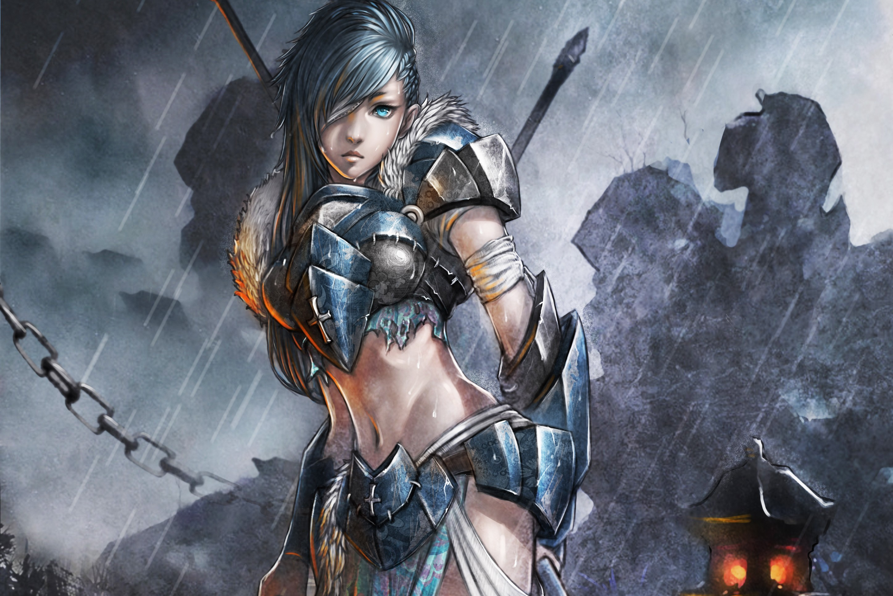 women warrior full hd wallpaper and background | 2894x1931 | id:263623