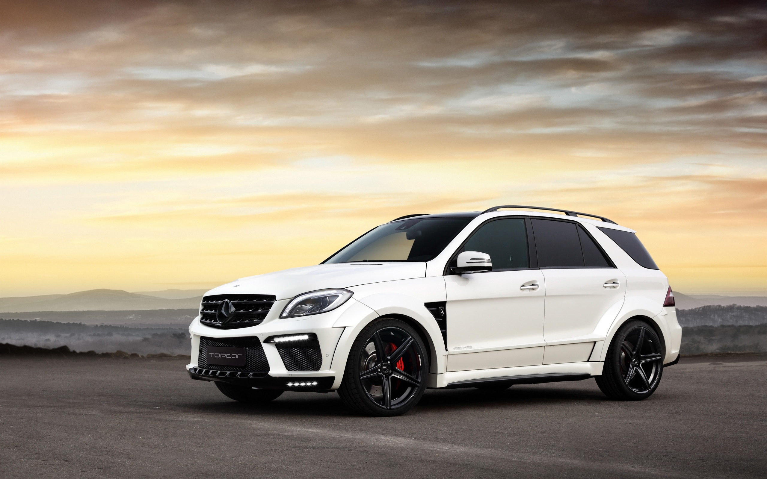 1 Mercedes Benz ML63 AMG HD Wallpapers Background Images