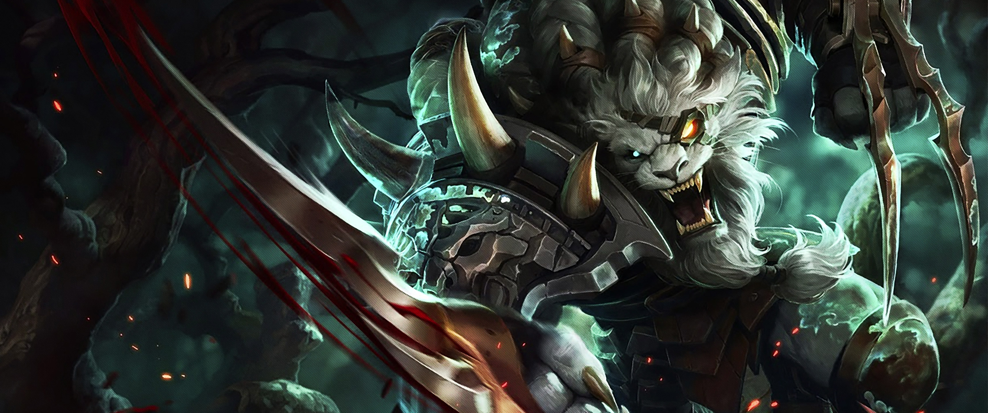 Rengar Full HD Wallpaper And Background Image 3440x1440