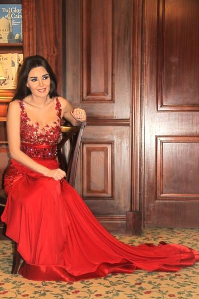 بالصور فستان سيرين عبد النور الذي أغضب المتواجدين في حفل