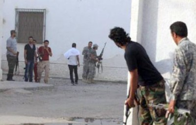 Height of the victims of clashes Benghazi to 70 dead and 1020 injured and the explosion shakes Qatar Embassy in Libya