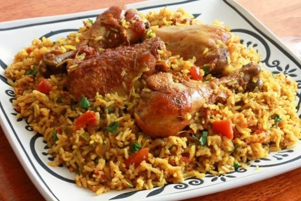 كبسة الدجاج السريعة مطبخ منال العالم دنيا الوطن