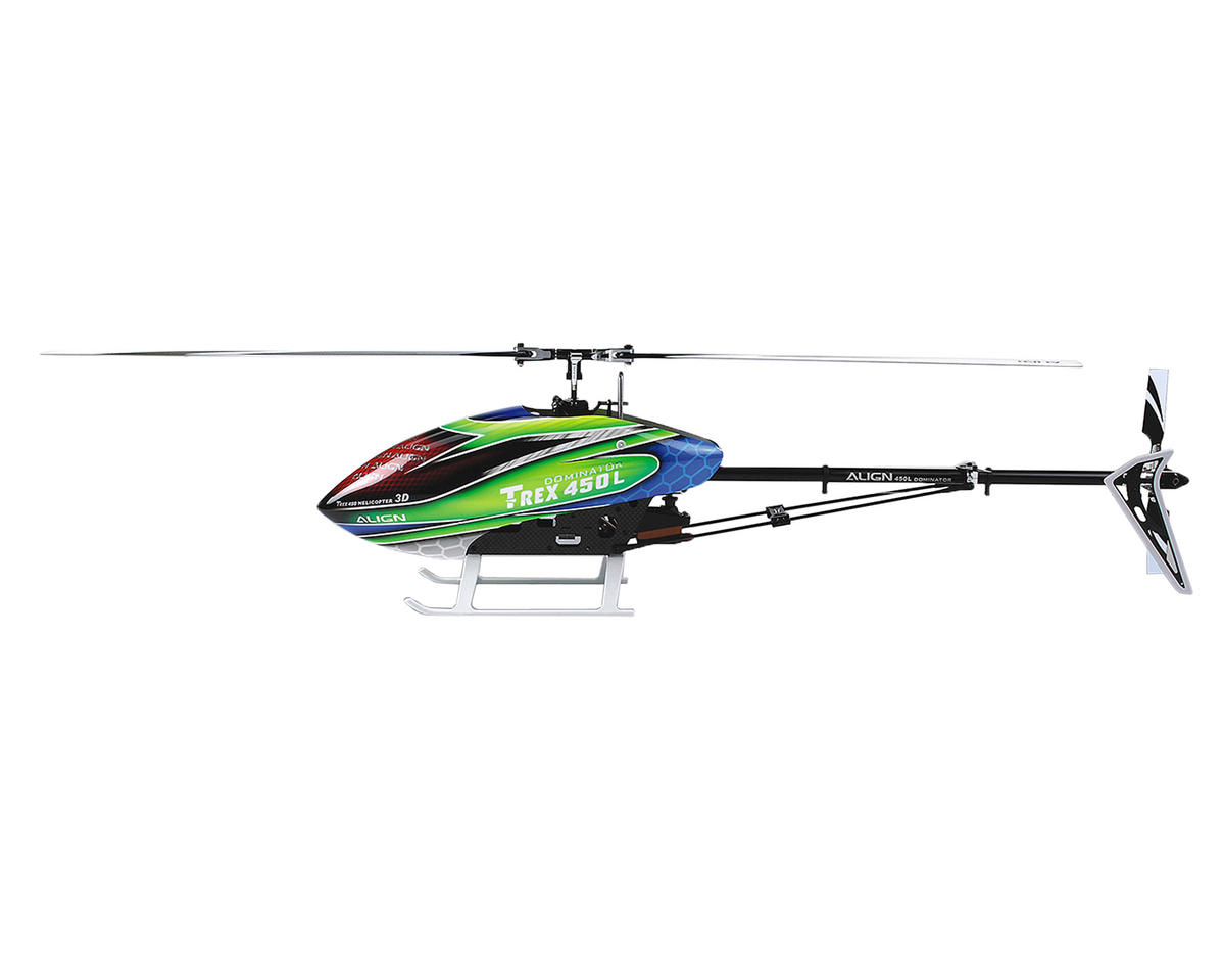 Align T Rex 450l Dominator Super Combo Helicopter Kit W