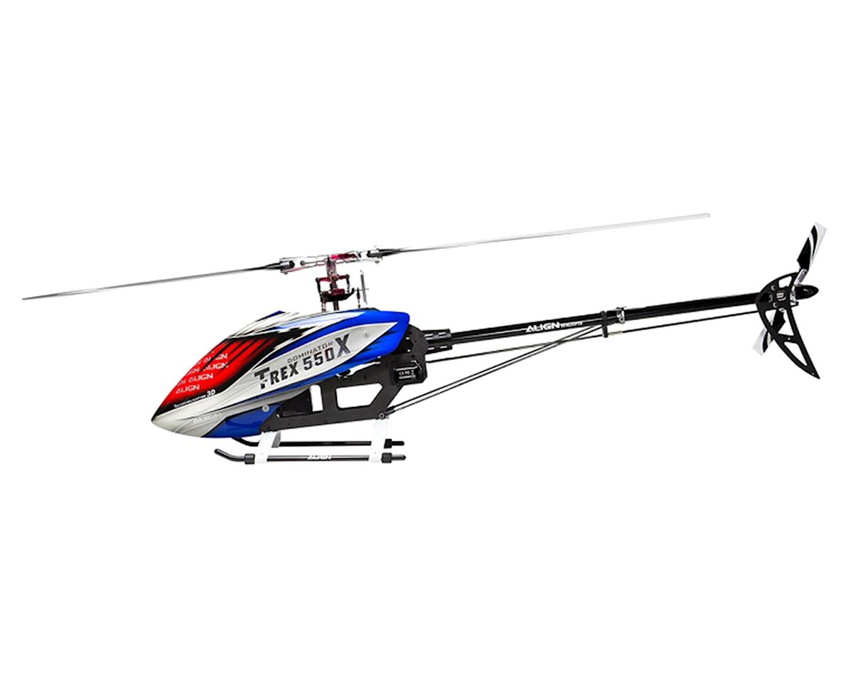 Align T Rex 550x Dominator Super Combo Helicopter Kit