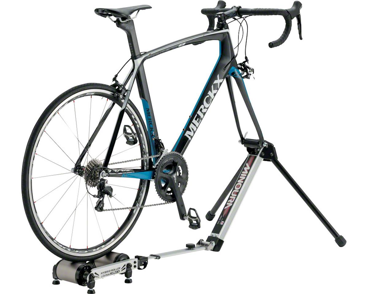 Minoura Fg 220 Hybrid Roller With Storage Bag Front Fork Mounted Trainer With R 400 00