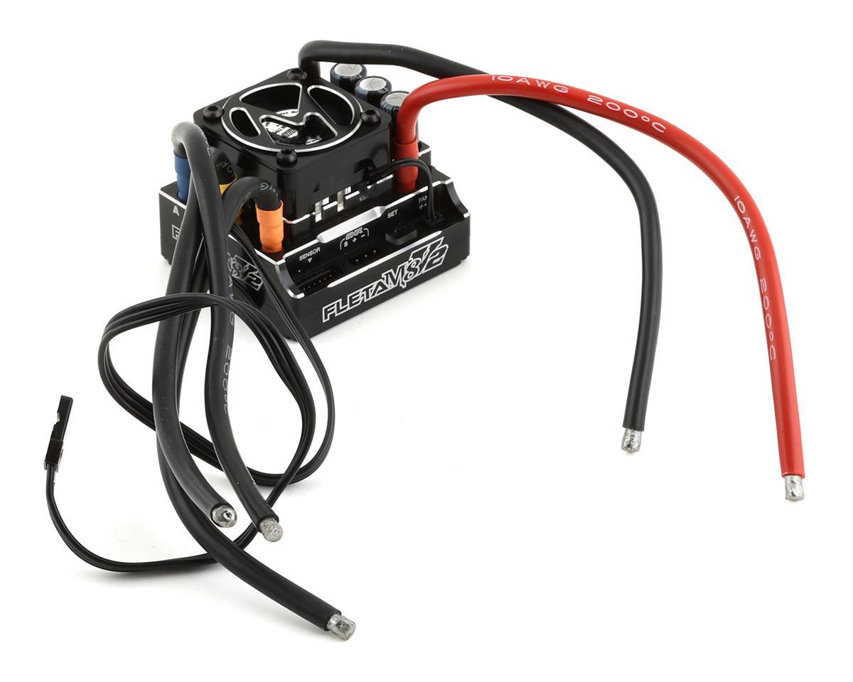 Muchmore Fleta M8 2 180a 1 8 Brushless Sensored Esc Black