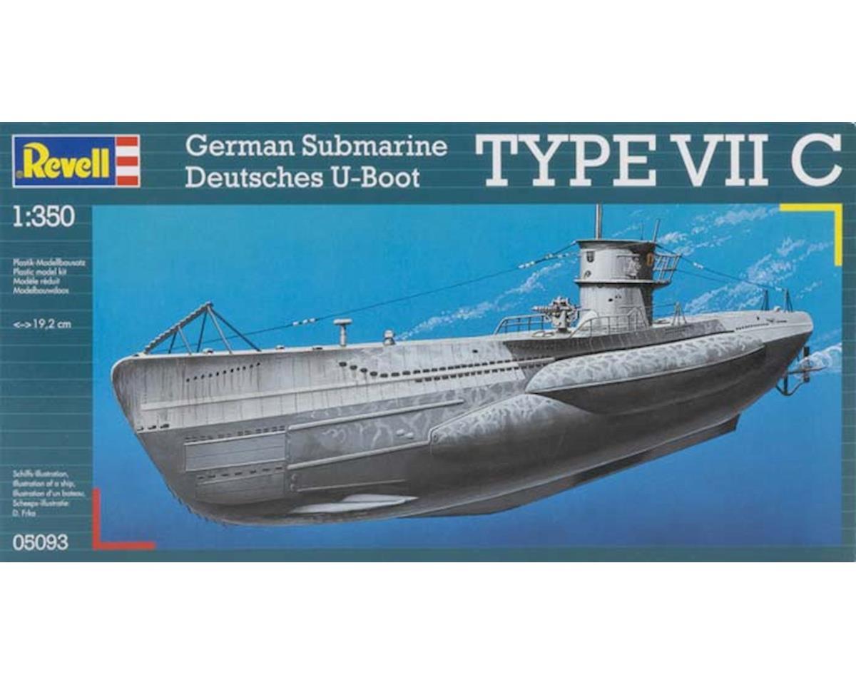 Revell Germany 1 350 U Boat Type Viic German Submarine