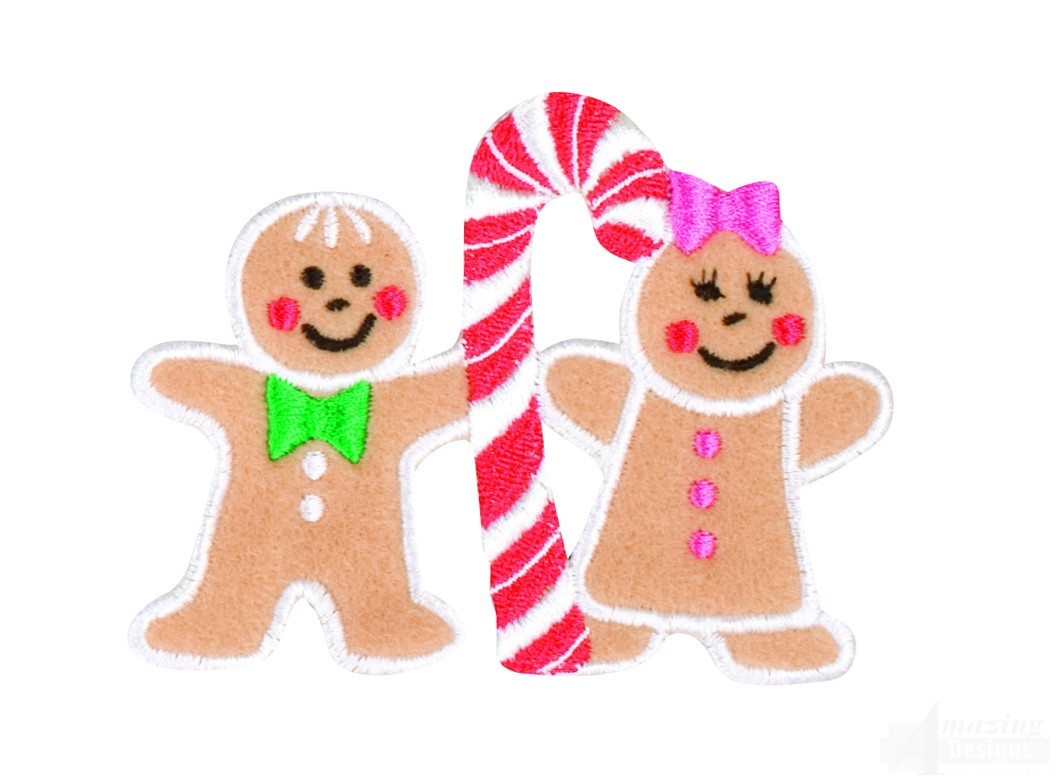 Coloring page of gingerbread girl and boy - Get Free High Quality Hd Wallpapers Coloring Page Of Gingerbread Girl And Boy