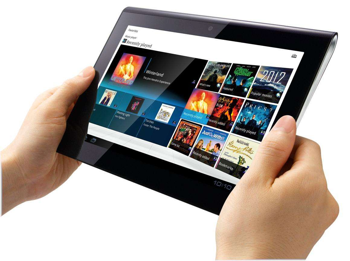 Sony Tablet S Hands on
