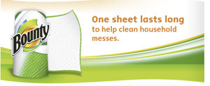 One sheet lasts long to help clean household messes.