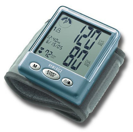 that determines both systolic and diastolic blood pressure measurements.