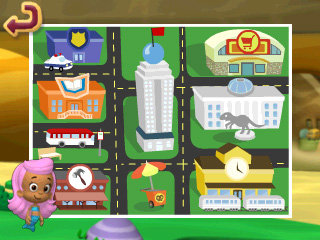 Discover city places and people, and collect items that belong in a city along the way.