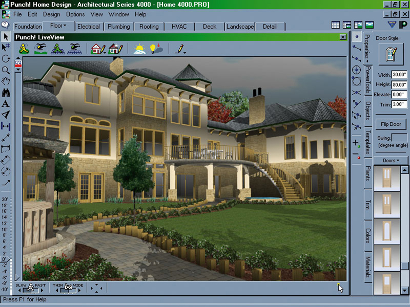 Punch Software Home Design Architectural Series 4000