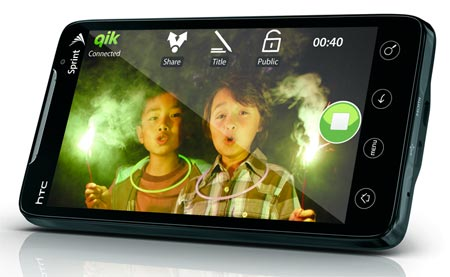 HTC evo 4G android