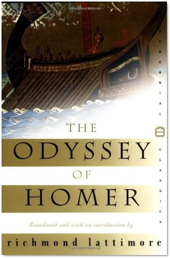 The Odyssey of Homer, Richmond Lattimore trans.