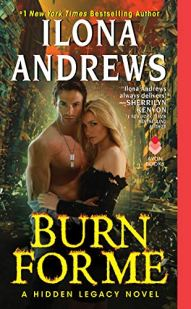 Ilona Andrews launches a brand-new Hidden Legacy series, in which one woman must place her trust in a seductive, dangerous man who sets off an even more dangerous desire . . . Nevada Baylor is faced with the most challenging case of her detective career—a suicide mission to bring in a suspect in a volatile situation. Nevada isn't sure she has the chops. Her quarry is a Prime, the highest rank of magic user, who can set anyone and anything on fire. Then she's kidnapped by Connor