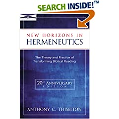 New Horizons in Hermeneutics