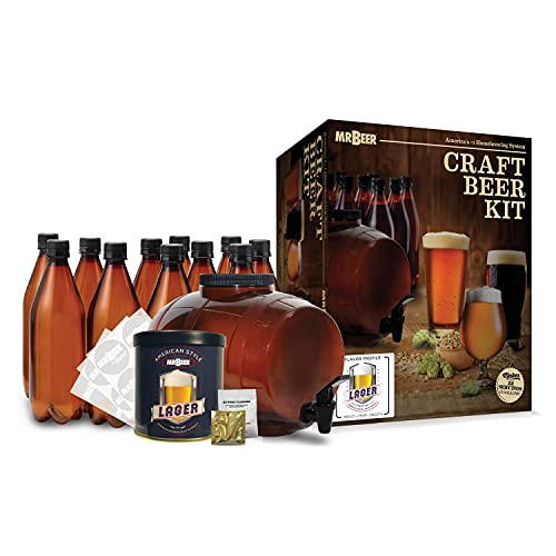 Mr. Beer Premium Micro Brewery 20028 with Bottles