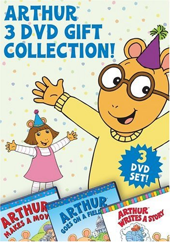Arthur 3-DVD Gift Collection