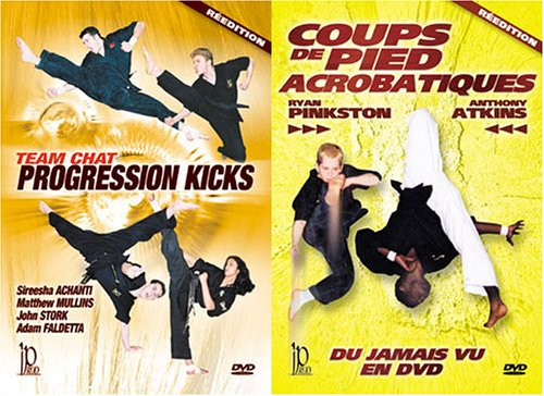 Martial Arts Acrobatics 2 DVD Set -D