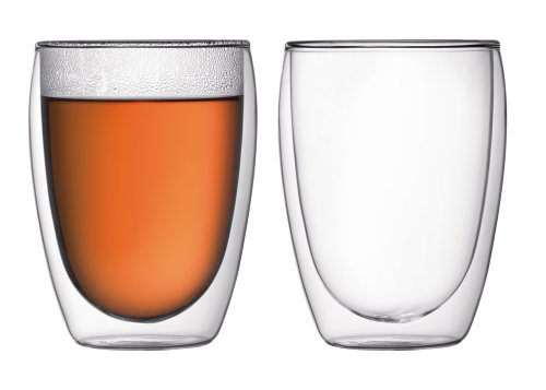 Bodum Pavina Double-Walled Cooler/Beer Glass, Set of 2