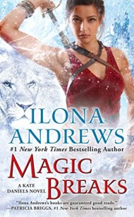 Magic Breaks by Ilona Andrews book cover