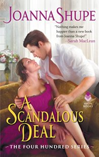 A Scandalous Deal by Joanna Shupe Book Cover