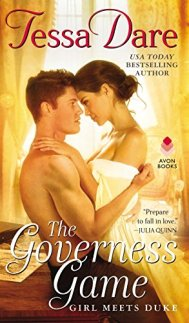The Governess Game by Tessa Dare book cover