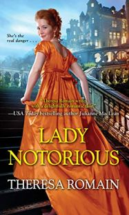 Lady Notorious by Theresa Romain book cover