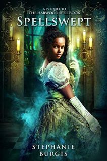 Spellswept by Stephanie Burgis book cover