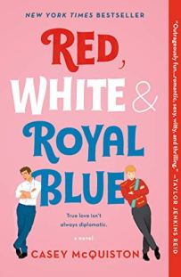 Red, White & Royal Blue by Casey McQuiston book cover