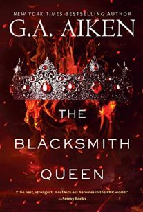 The Blacksmith Queen by G.A. Aiken book cover