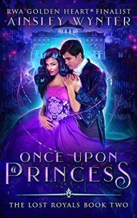 Once Upon a Princess by Ainsley Wynter book cover